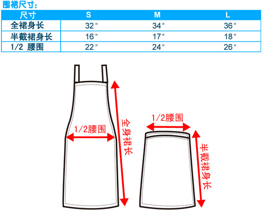 尺码-围裙-20100126