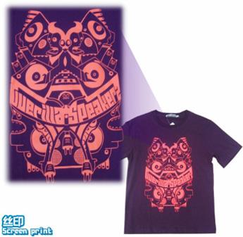 Tee100-logo-丝印-圆领衫