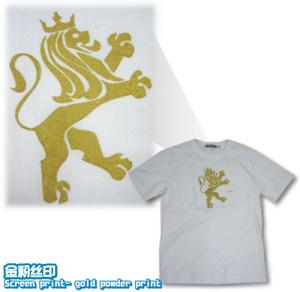 Tee100-logo-金粉丝印-T恤