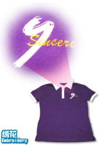 Tee100-logo-短袖polo恤