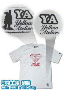 Tee100-logo-印花主唛-短袖圆领衫